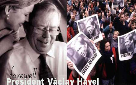 farewell Vaclav Havel