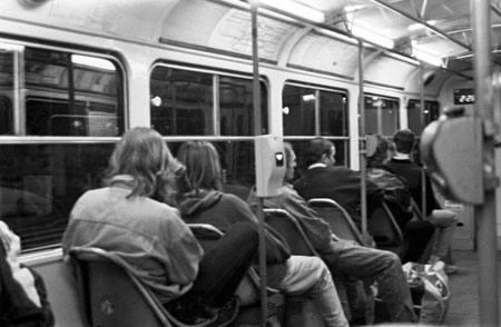 Night Tram – A poem by Mindy Glover