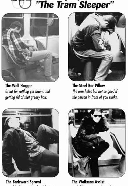 Are you a tram sleeper?