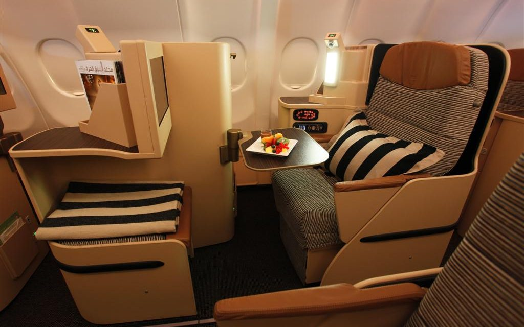The only way is business class