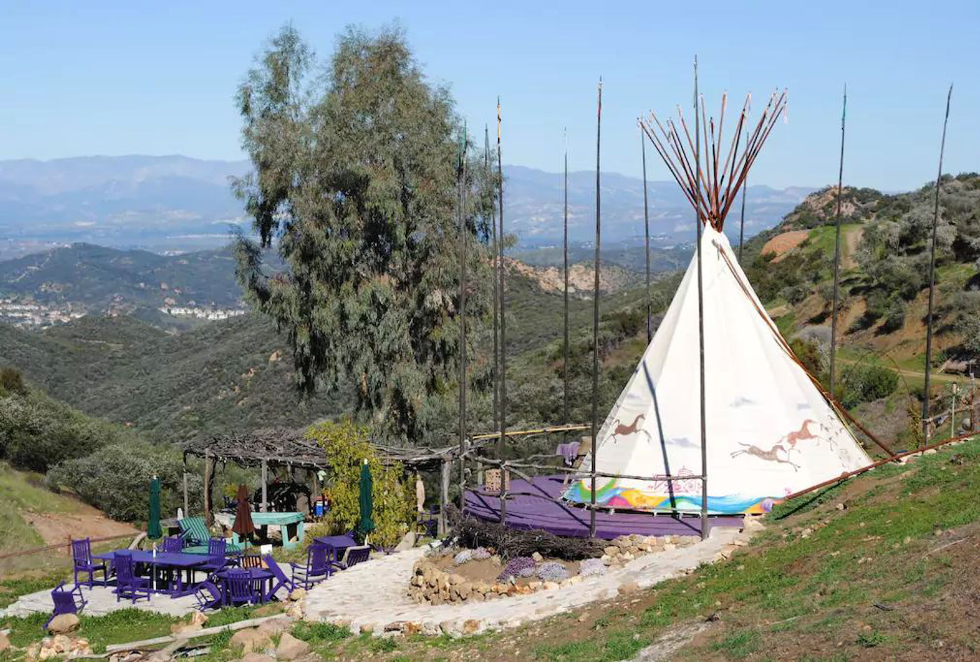 Authentic Native American Tipi in Southern California - Glamping Hub