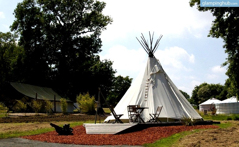 Gorgeous Tipis in the Lush, Breton Countryside in France - Glamping Hub